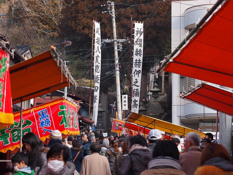 鉾持神社の参道