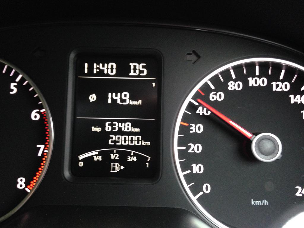 10,000km/年も走ってない