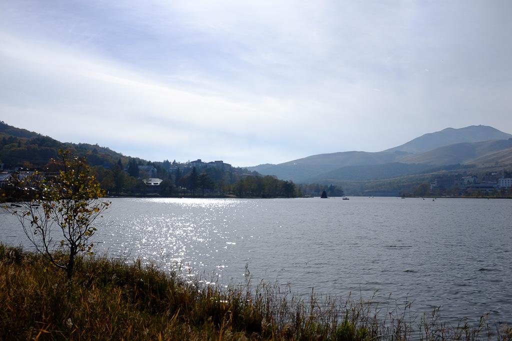 結構大きな湖