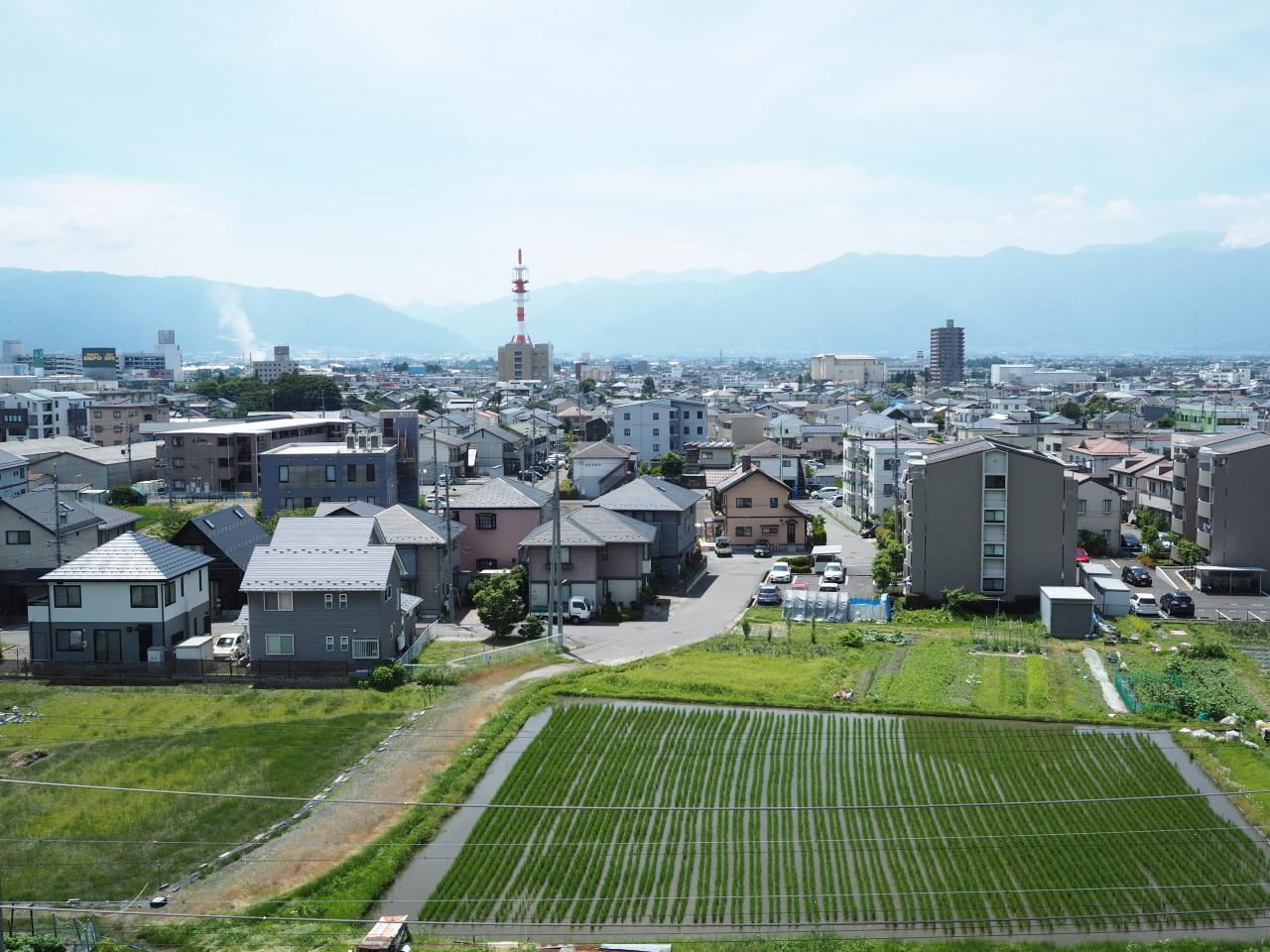 松本市方面