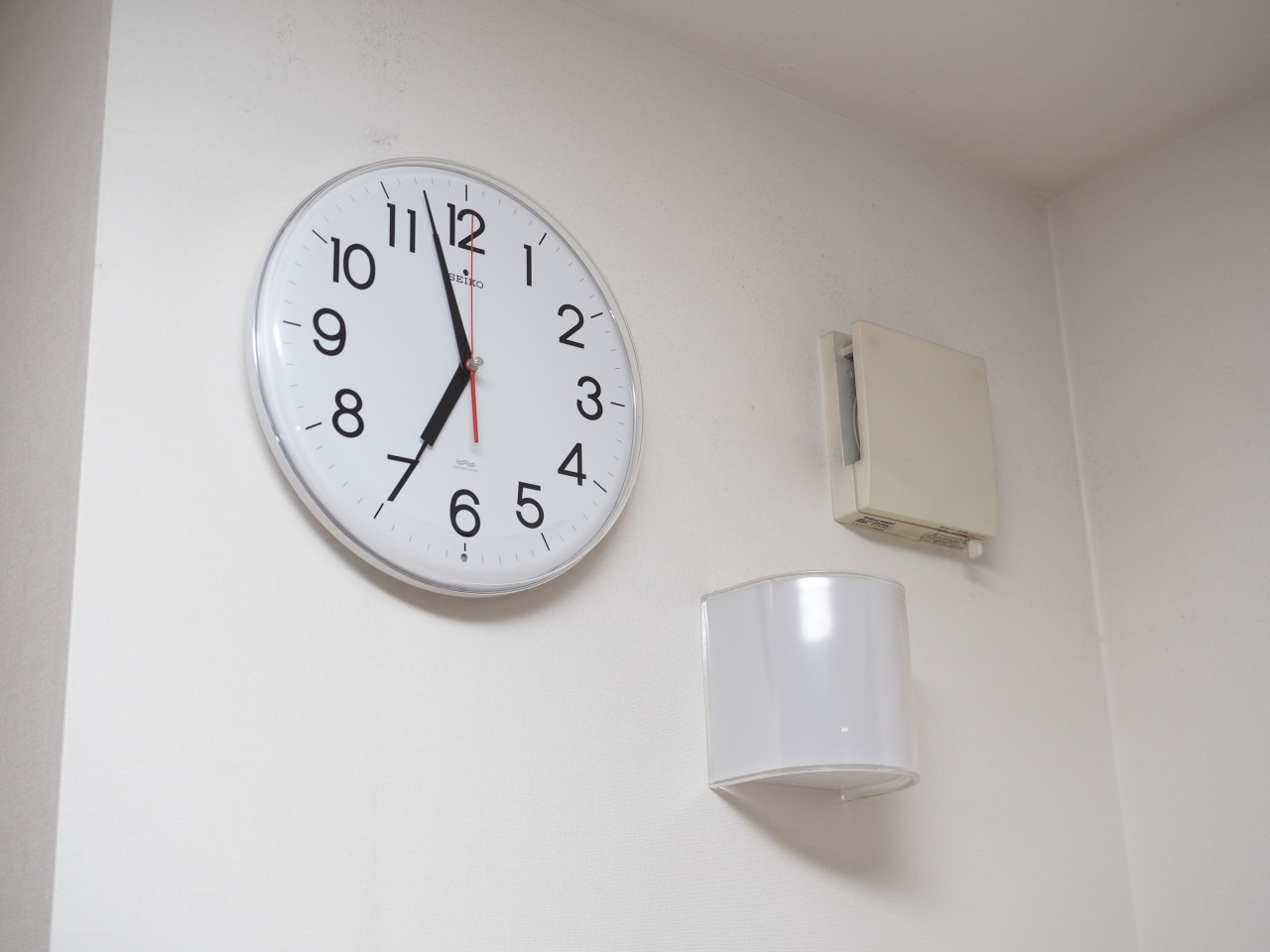念願の電波時計