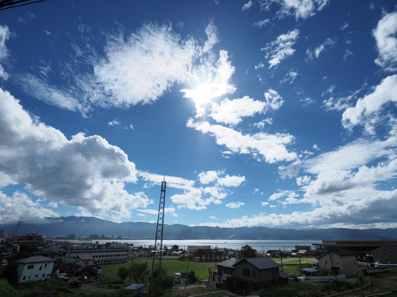 空が高い季節