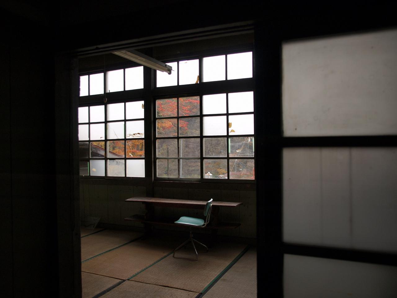 窓ガラスが全部ある