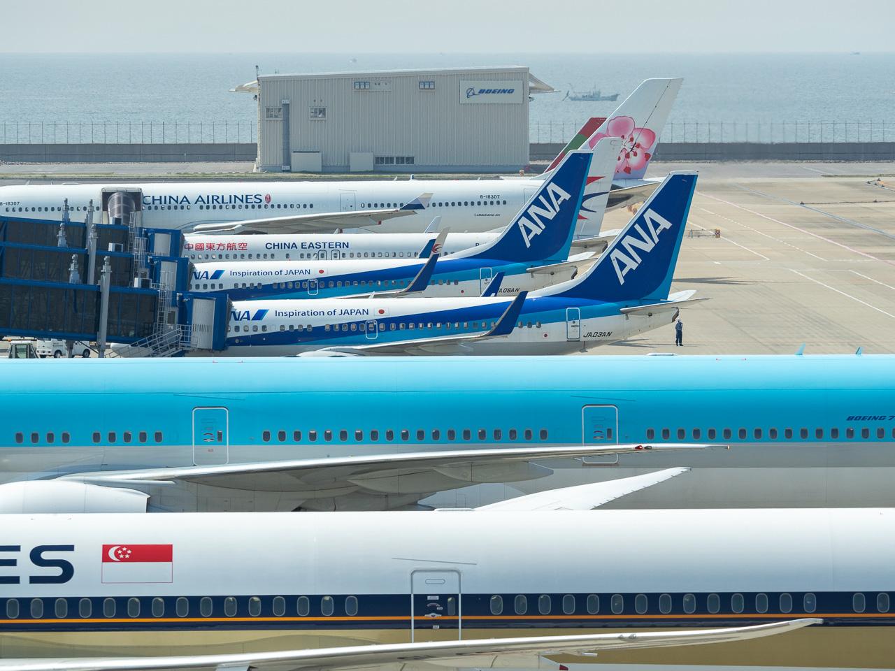 アジア圏の航空会社ばかり